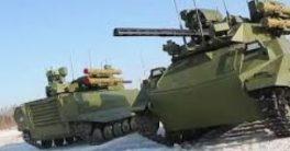 robot Uran-9 robot militar asesino del ejército Ruso el mejor robot de combate
