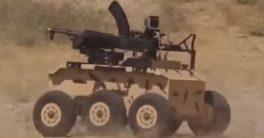 robot Heidar-1 es un robot militar de combate diseñado por Irán