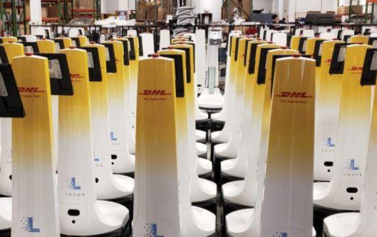 DHL integra 1000 robots de Locus Robotics