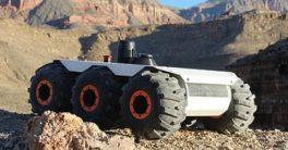 Robot explorador M6 UGV a disposición de la industria y del ejército
